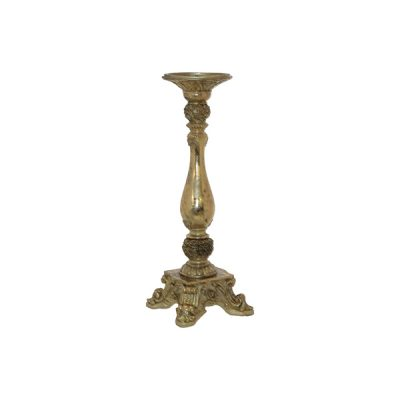 MAXINE GOLD CANDLE HOLDER 36CM