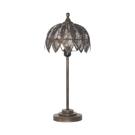 ARQU PALM TABLE LAMP 64CM