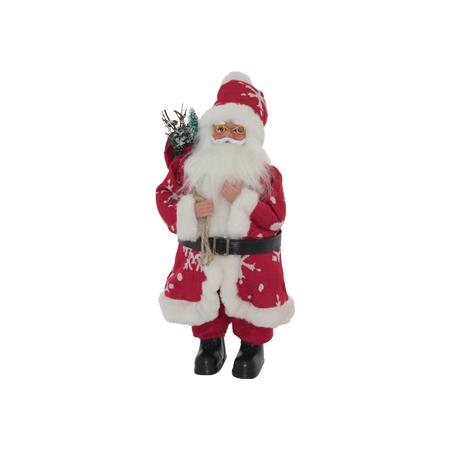 RED SNOWFLAKE FATHER CHRISTMAS 43