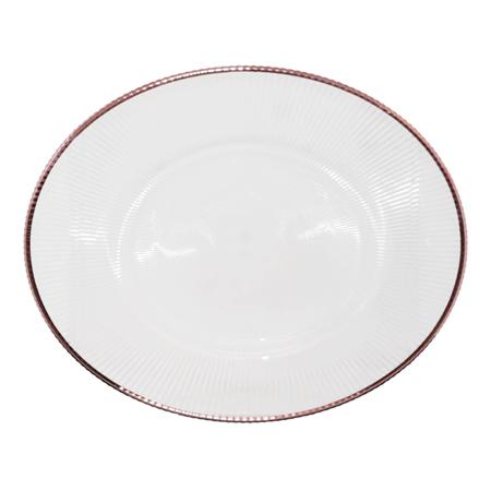 DIVA CLEAR U/PLATE ROSEGOLD RIM33