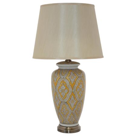 CHERYL VASE LAMP/SH METAL BASE 73