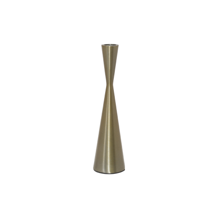 ECLIPSE GOLD CANDLE HOLDER 23CM