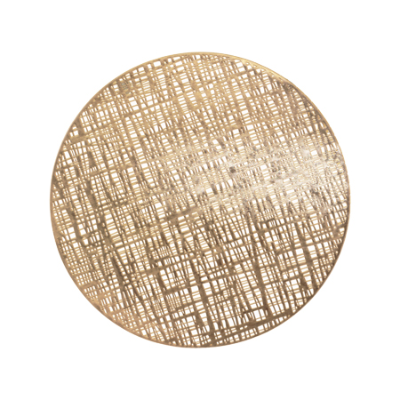 CHAMPAGNE ROUND PLACEMAT 38CM D