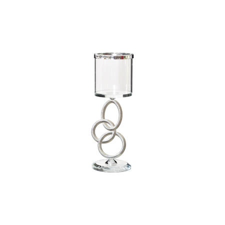 OLYMPIC CANDLE HOLDER 19CM