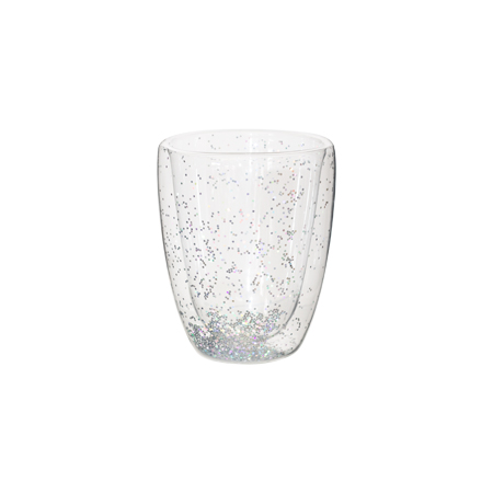 DOUBLE WALL RAINBOW GLASS 300ML