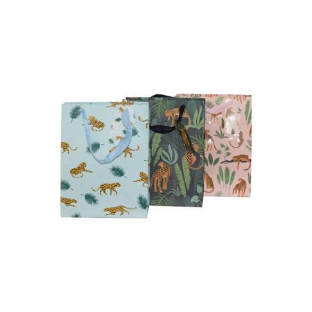 ANIMAL PRINT GIFT BAG S 23X18 MIX