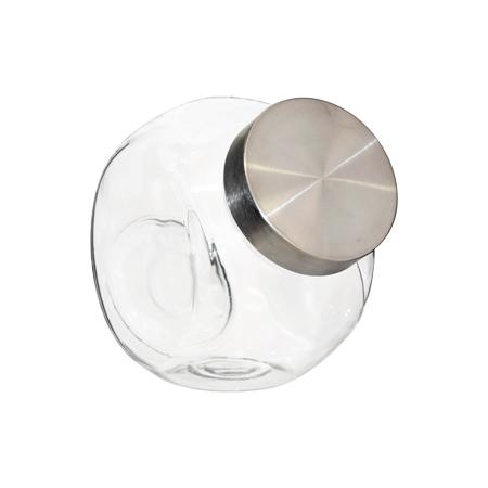 ANGELED JAR SILVER LID 17CM 1.5LT
