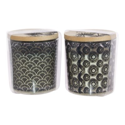 WILD FIRE SCENTED CANDLE MIXED 8C